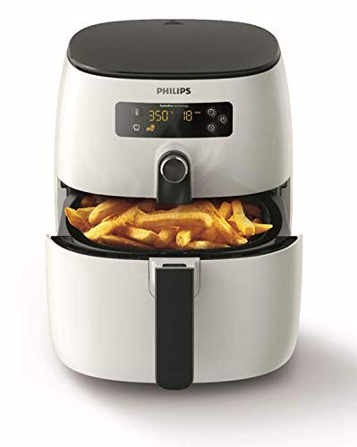 Philips Airfryer HD9640/00 Friggitrice Low-Oil e Multicooker con Tecnologia TurboStar, 1425 W, 0.8 kg, Bianco