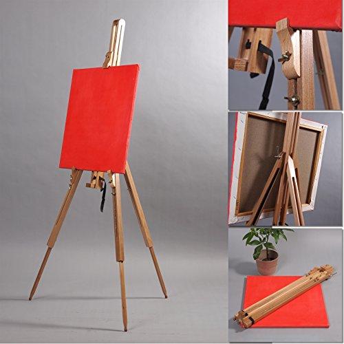 Cavalletto In legno per appoggiare tele o libri; XTRADEFACTORY ORIGINALE
