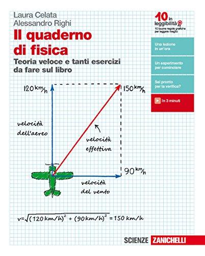 Il quaderno di fisica. Teoria veloce e tanti esercizi da fare sul libro. Per le Scuole superiori. Con e-book