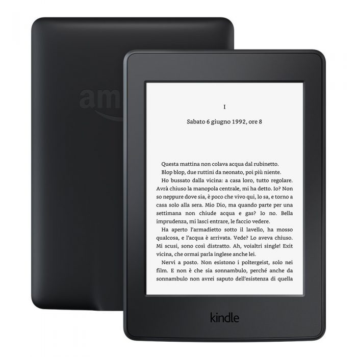 kindle paperwhite regali natale 2017 tecnologici