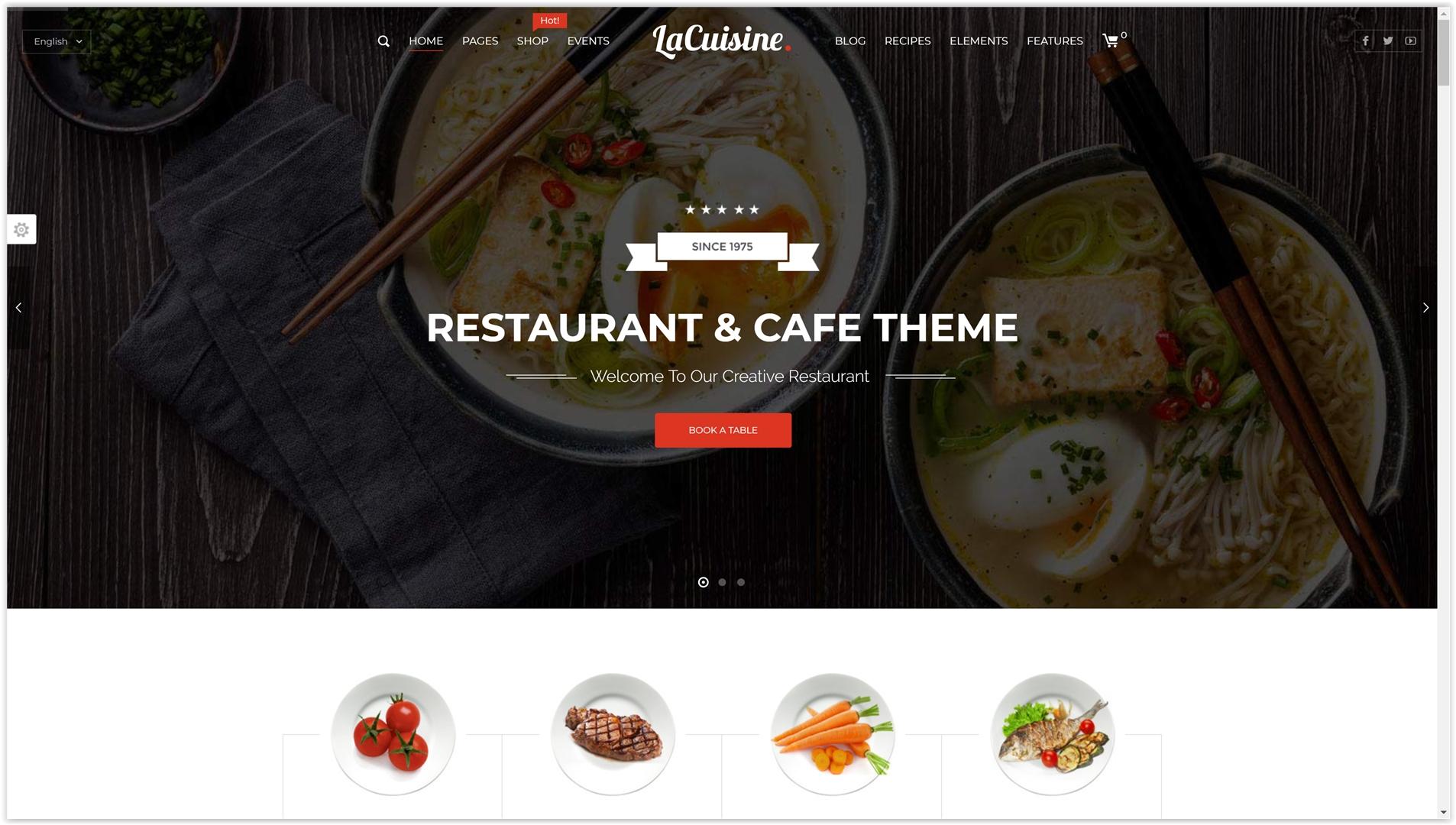 temi wordpress ristoranti migliori