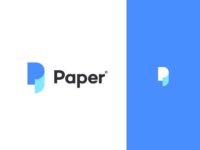 Paper Grafica Logo Design Ispirazione