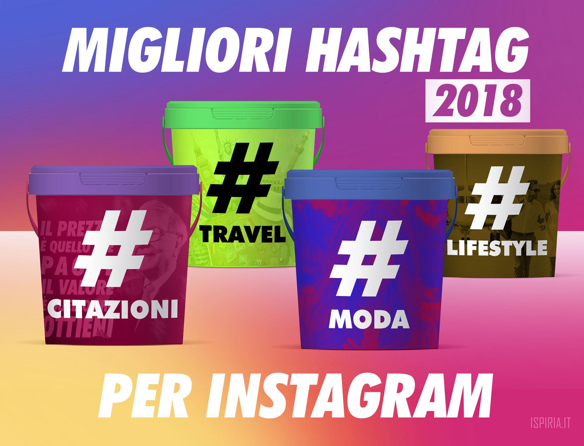 Migliori Hashtag Instagram Luglio 2018 Divisi Per Settore