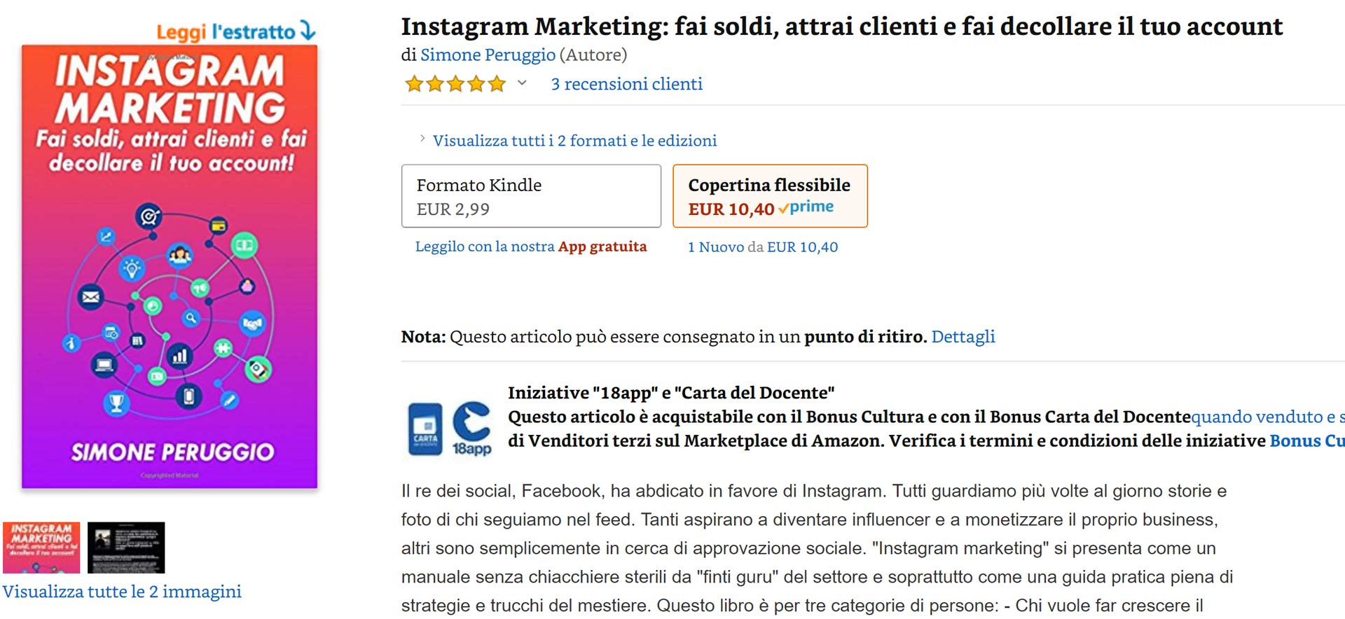 migliori hashtag instagram libro