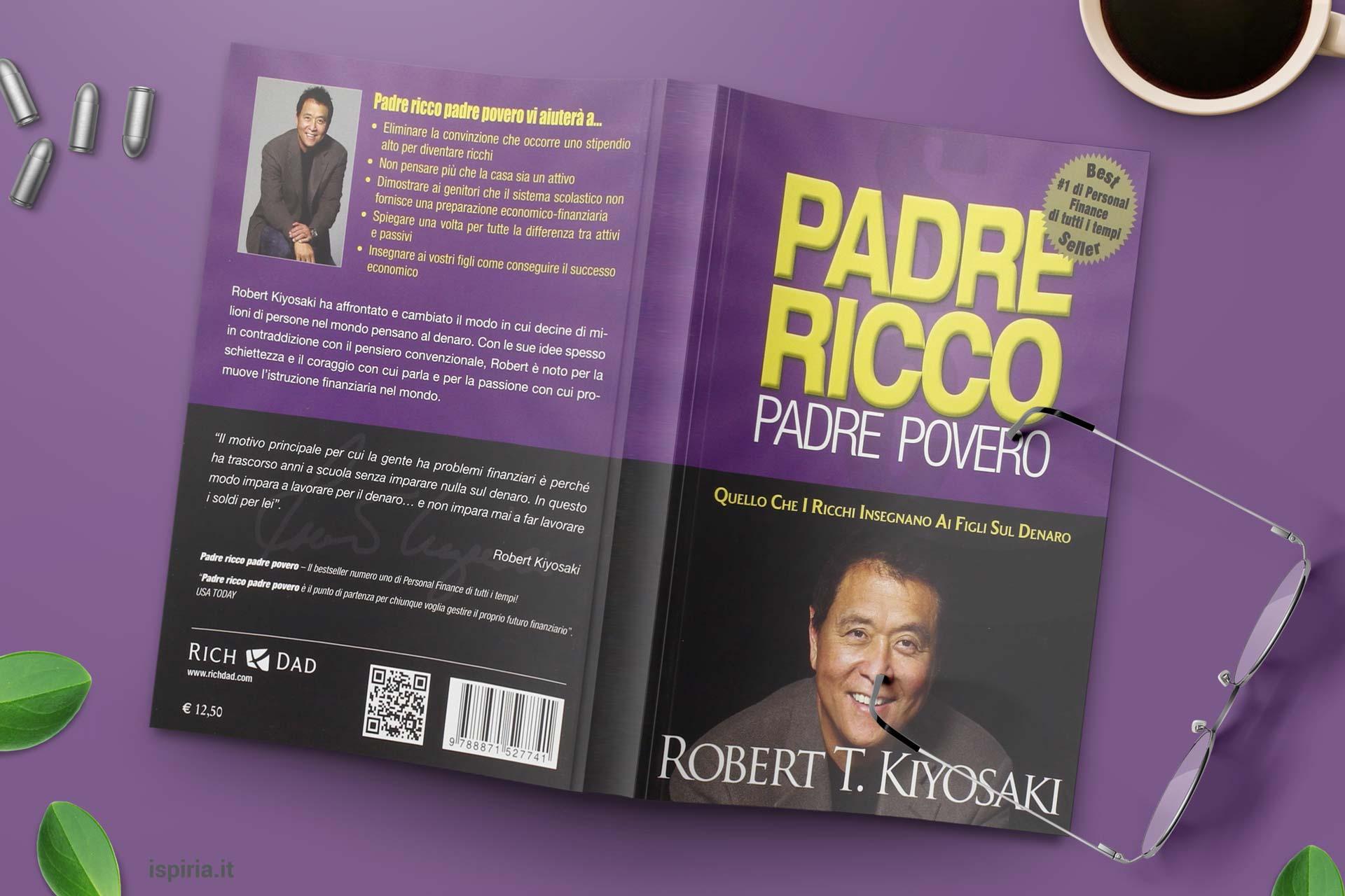 Padre Ricco Padre Povero Libro Migliore Crescita Personale Diventare Ricchi
