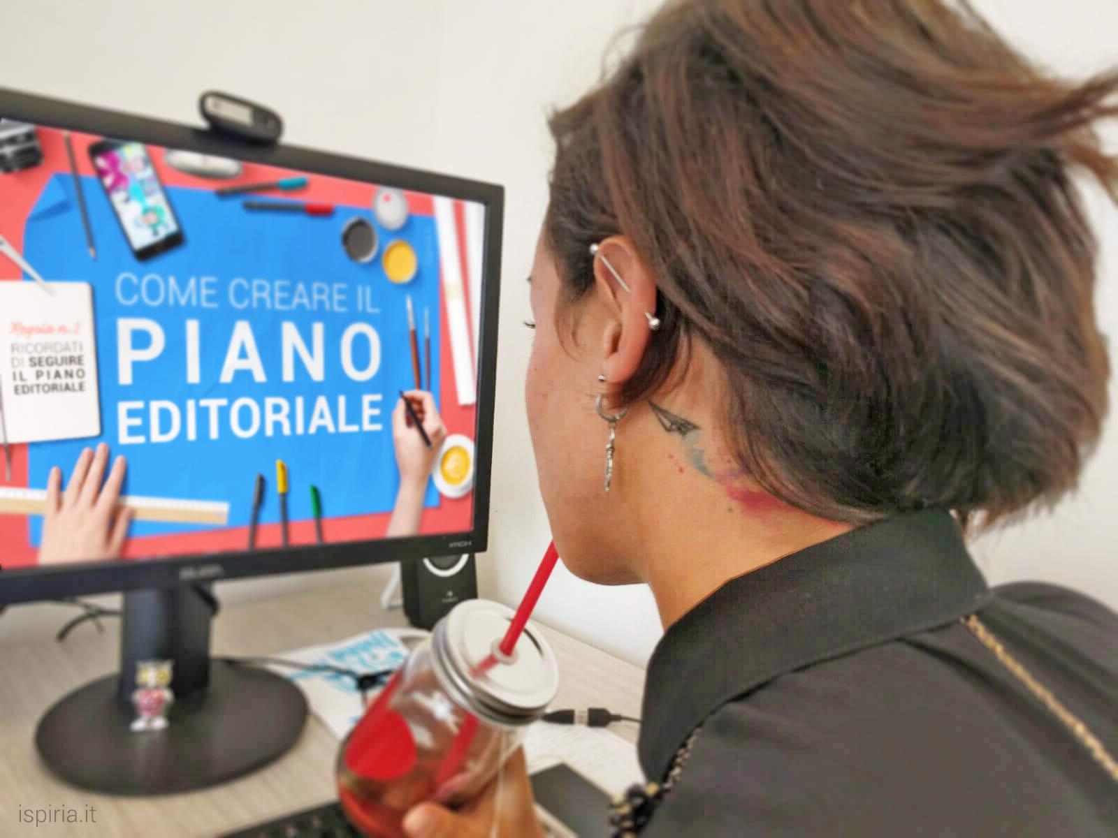 come creare piano editoriale