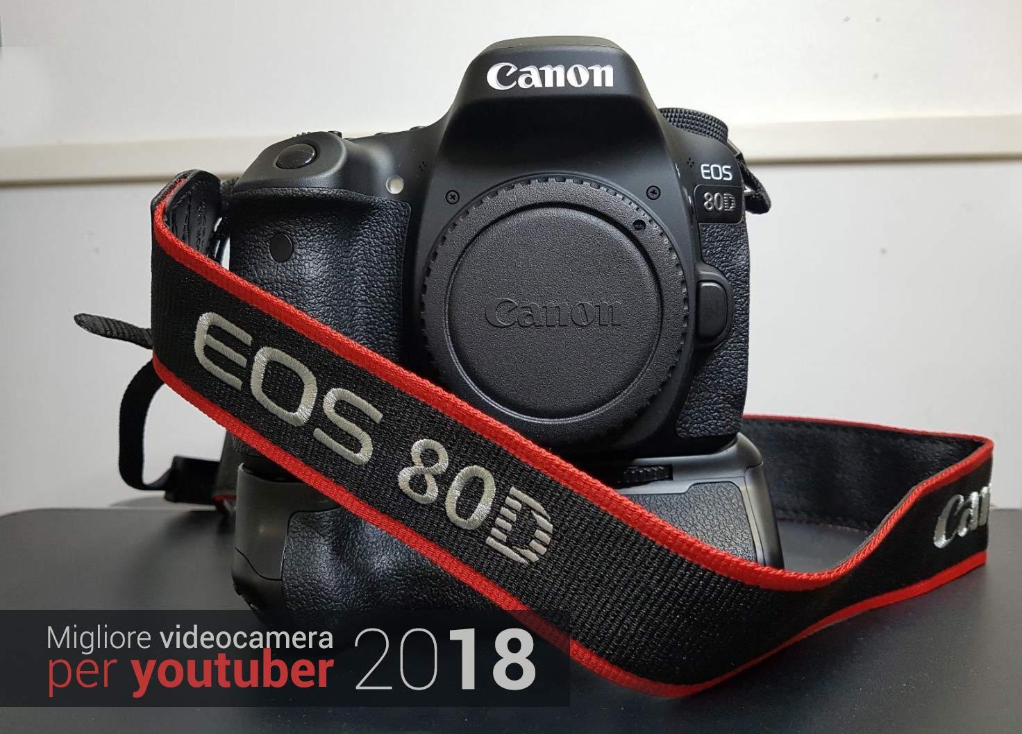 migliori videocamere youtube 2018
