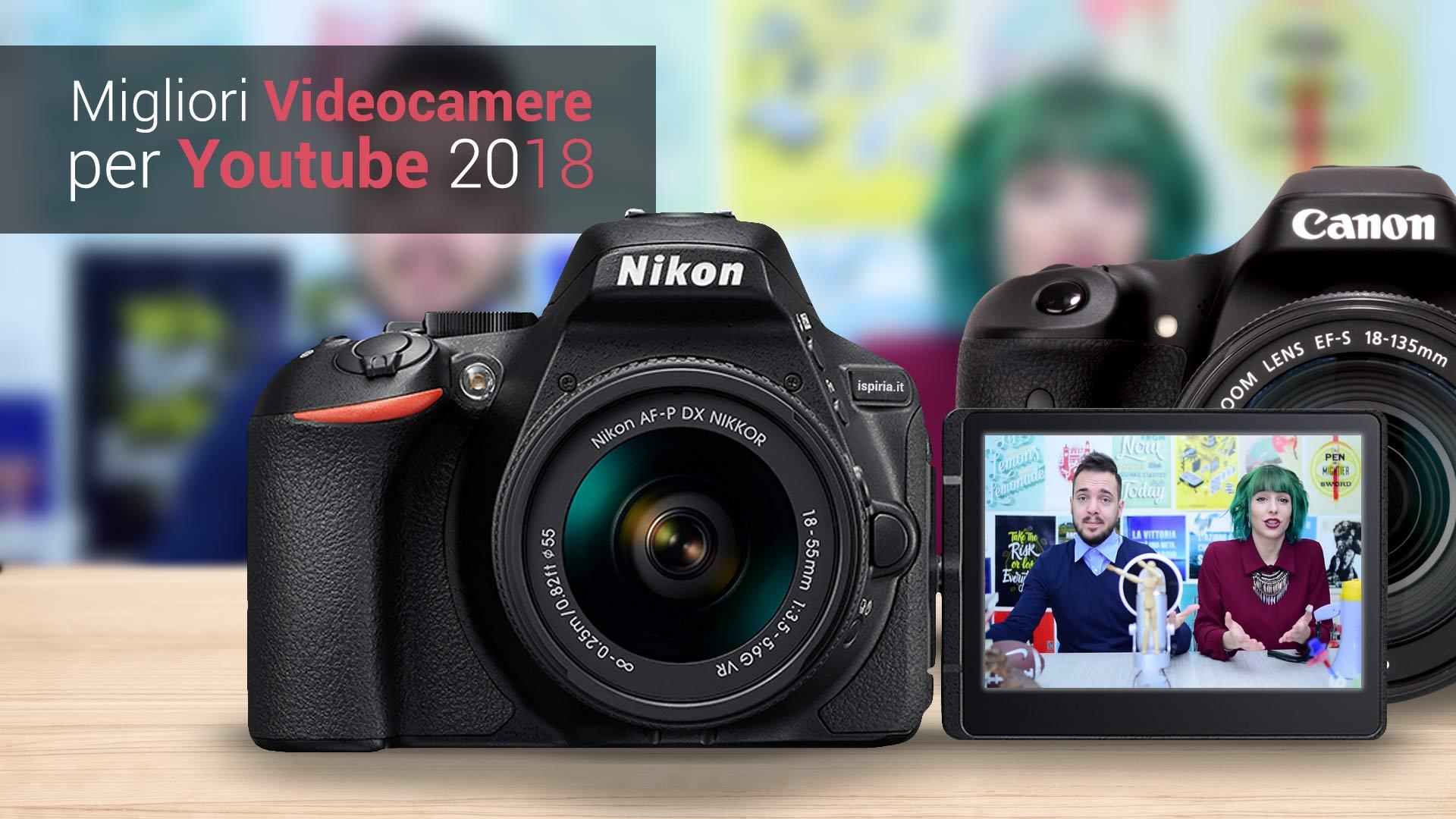 Migliori Videocamere Youtube 2018, Per Video Di Youtuber E Vlogger [Guida]