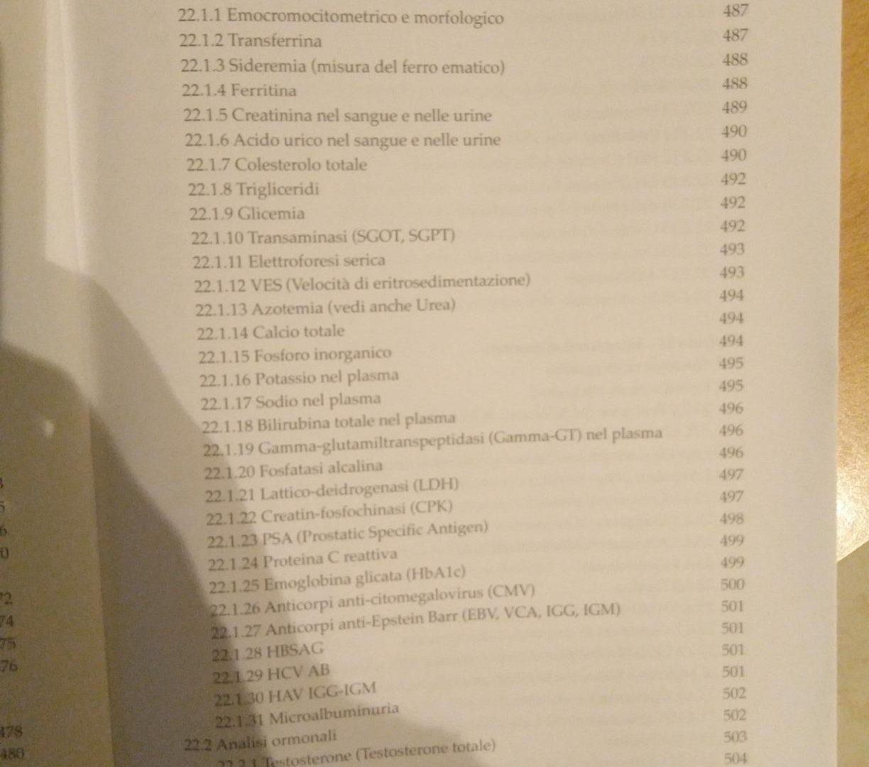 Indice Libro Sport E Alimentazione