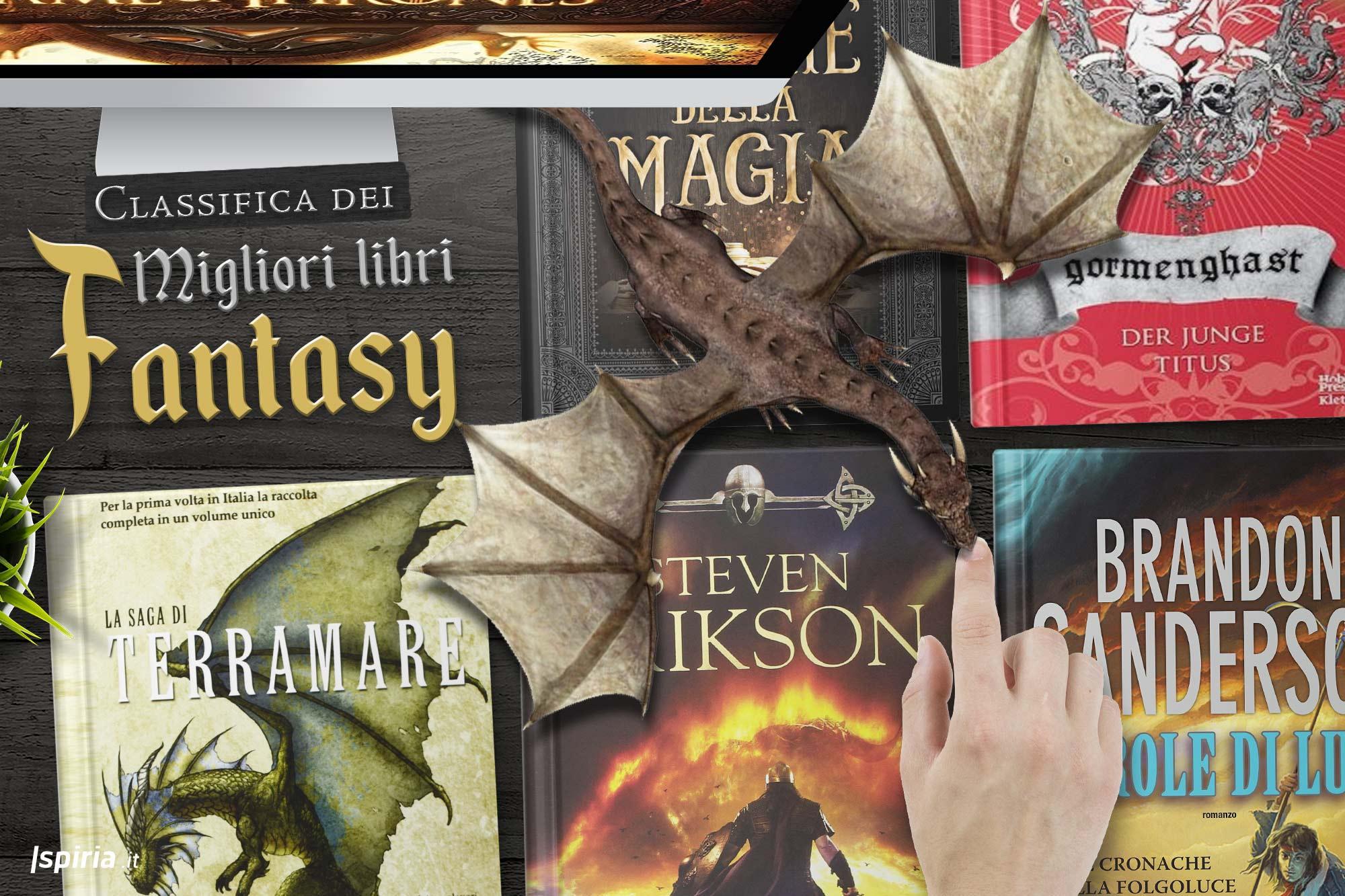 migliori libri fantasy romanzi