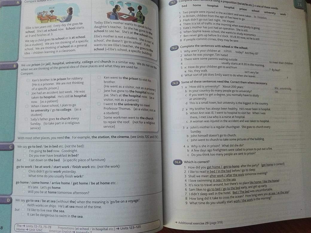 english grammar in use libro inglese 2