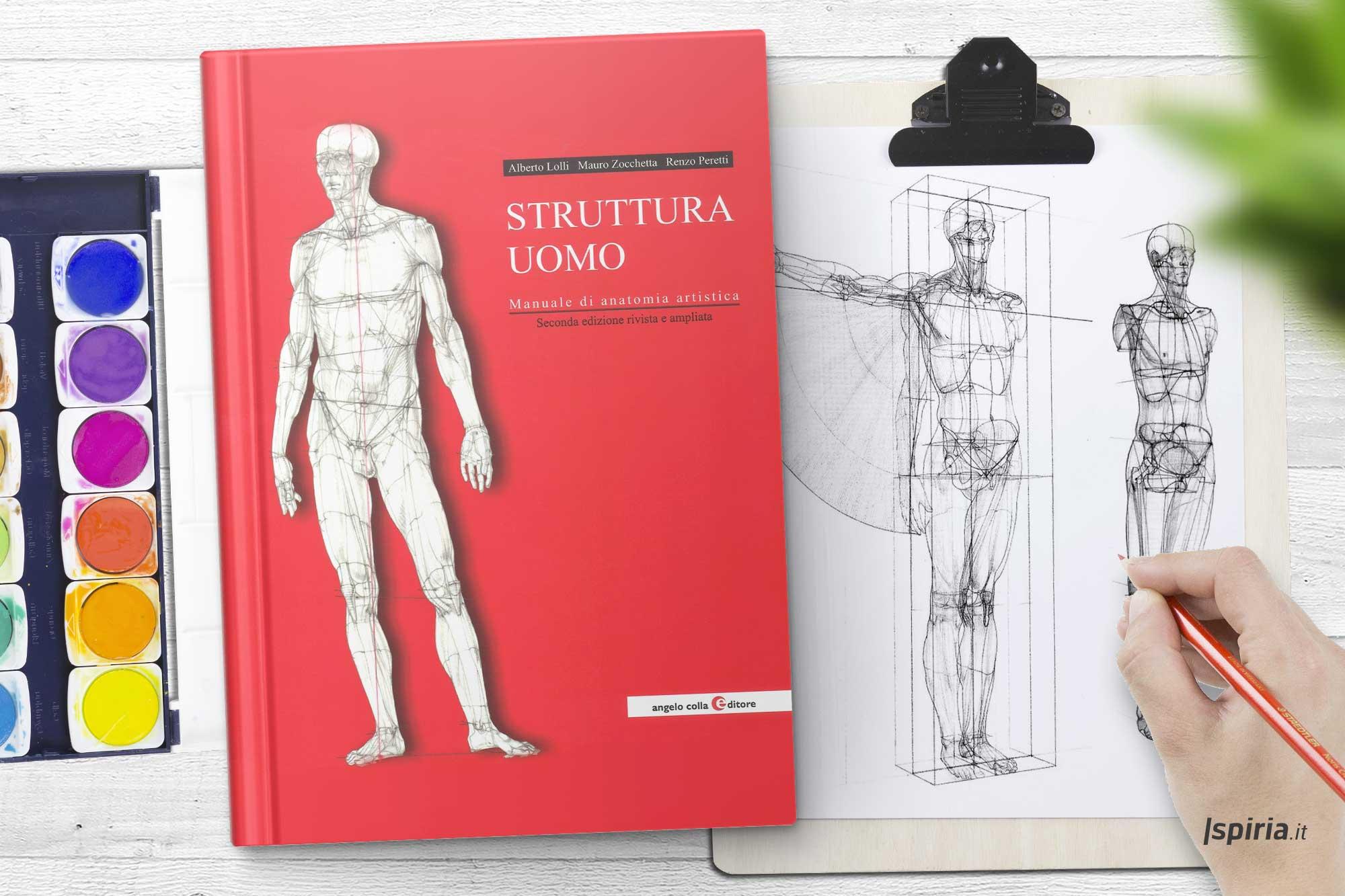 libro imparare a disegnare bene anatomia
