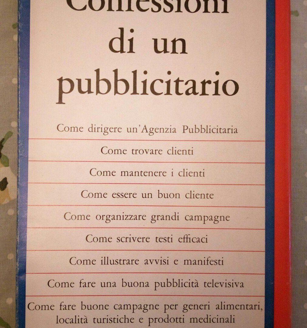 Libro Sulla Pubblicità Ogilvy Italiano