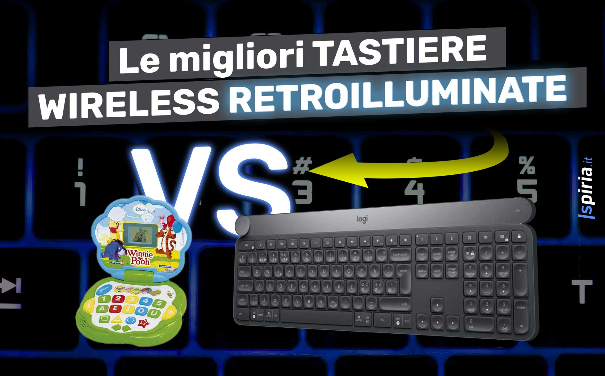 migliori tastiere wireless retroilluminate