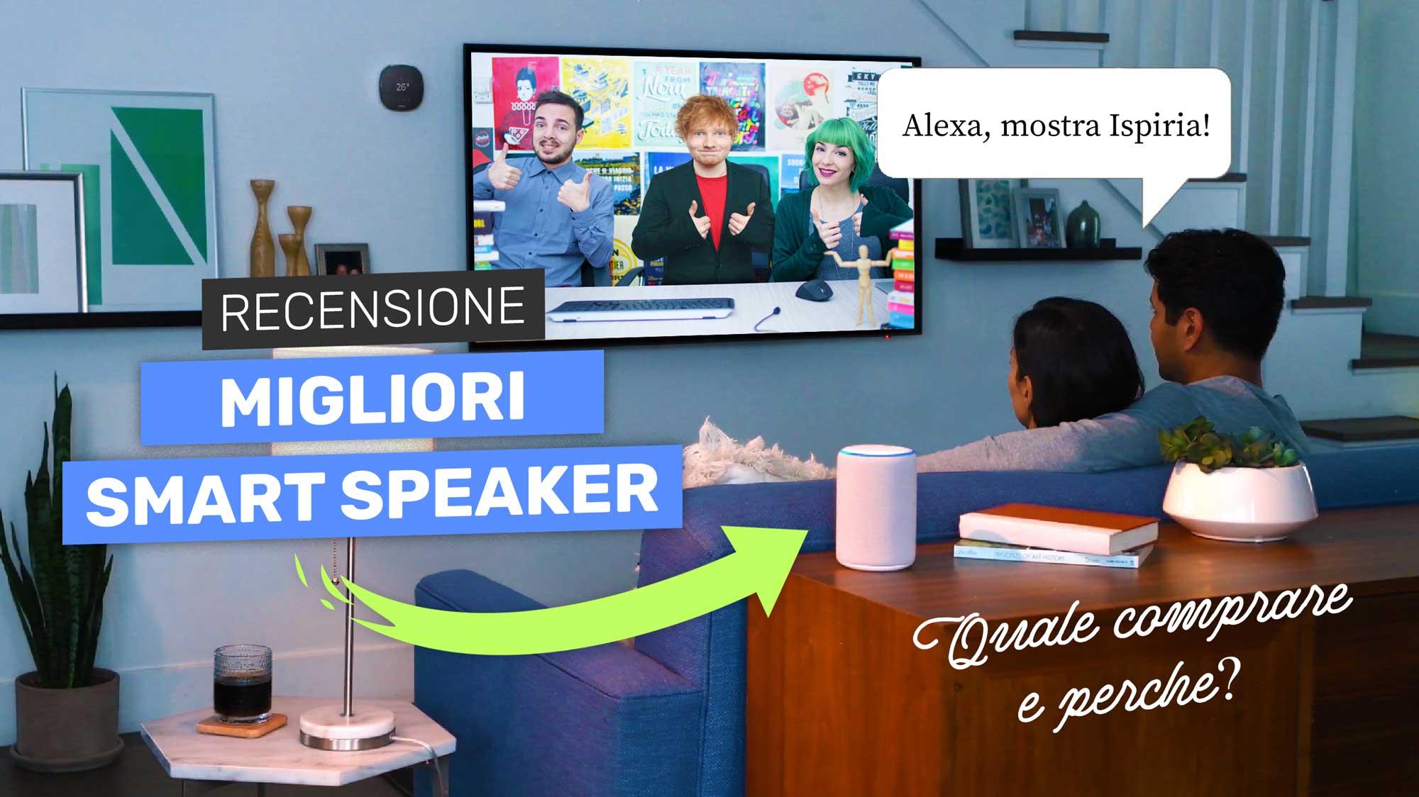 Migliori Smart Speaker 2018, Quale Comprare? Recensione Assistente Vocale Da Casa