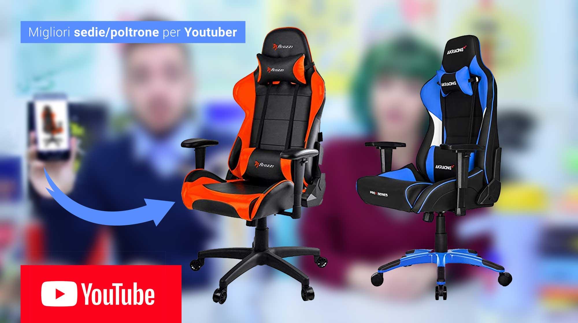 attrezzatura-migliori-sedie-ergonomiche-per-youtuber