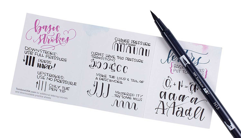 lettering-kit-principianti-tombow