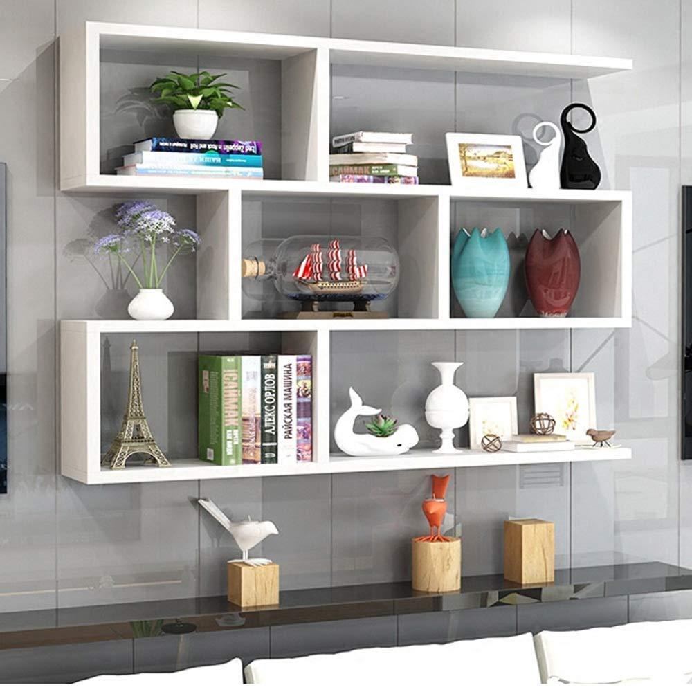 Libreria A Parete Design Moderno Bianca