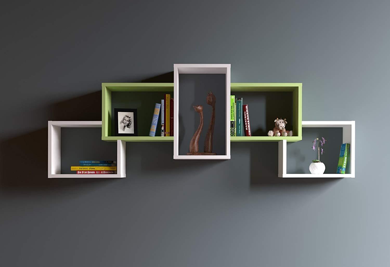 libreria a parete design