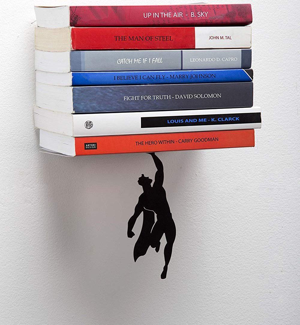 Libreria A Scomparsa Superman Metallo