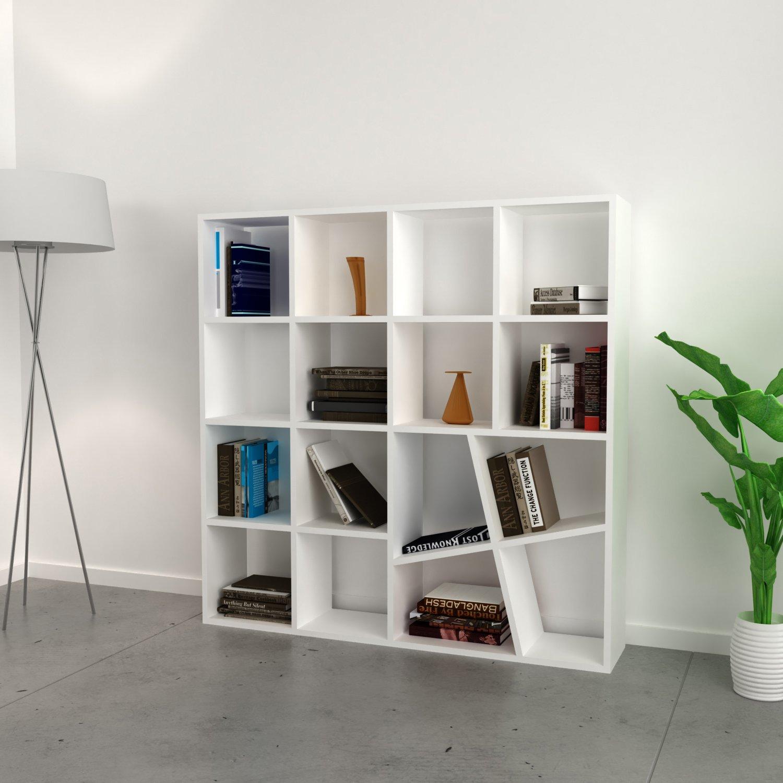 Libreria design da terra moderna for Migliori riviste arredamento