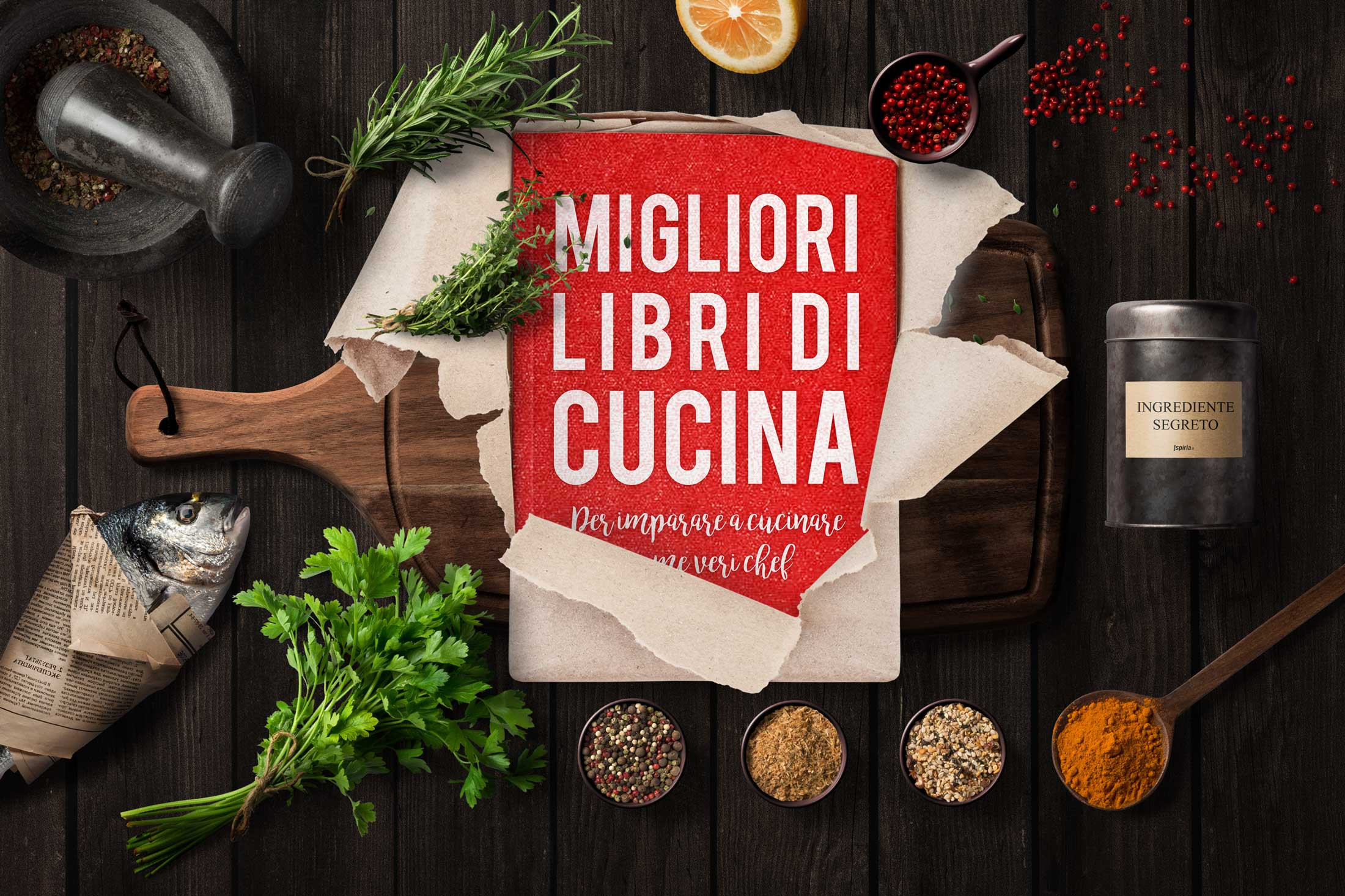 Migliori libri di cucina for Libri di cucina professionali pdf