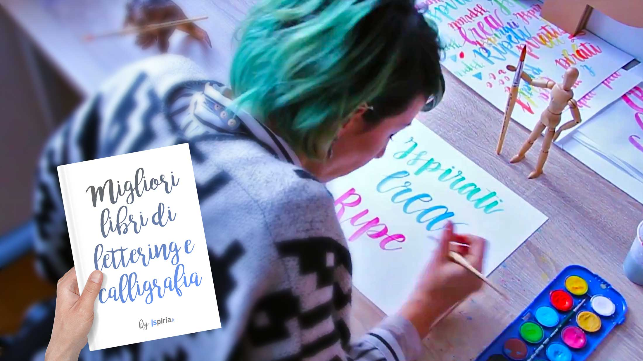 Migliori Libri Lettering | Libro Per Imparare Calligrafia E Hand Lettering