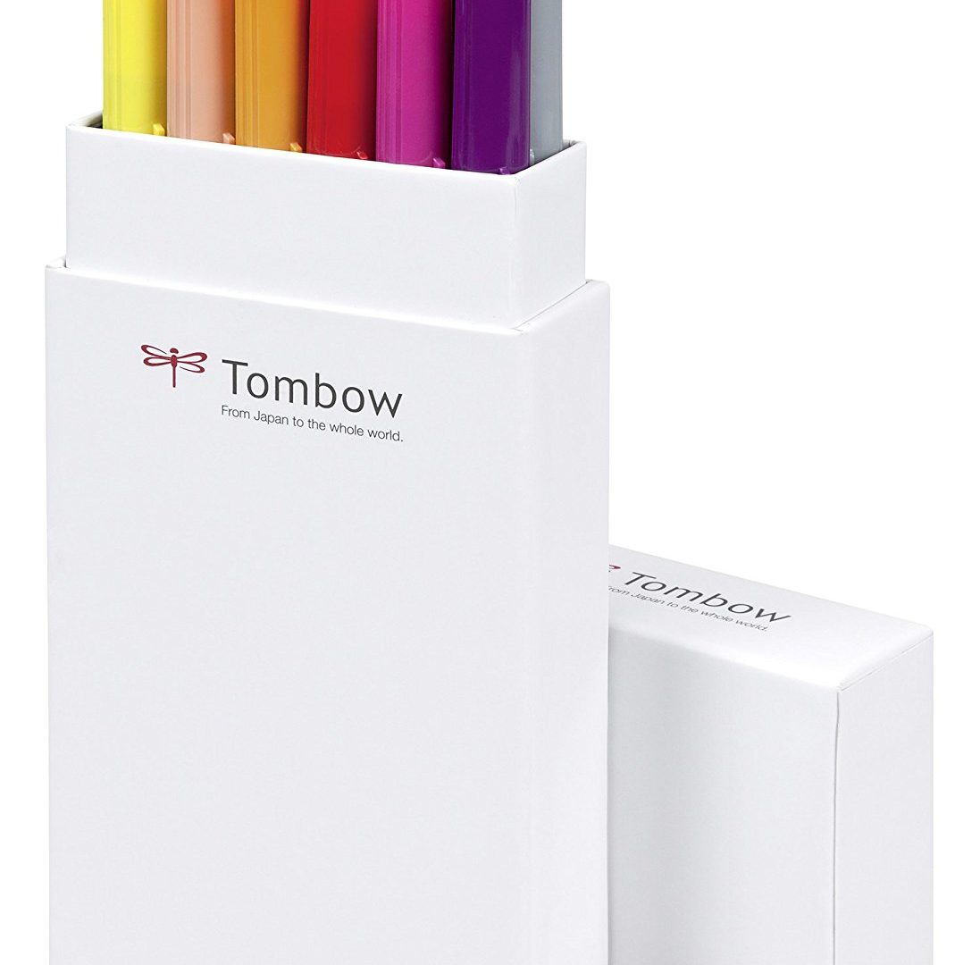 Tombow Pennarelli Lettering Base