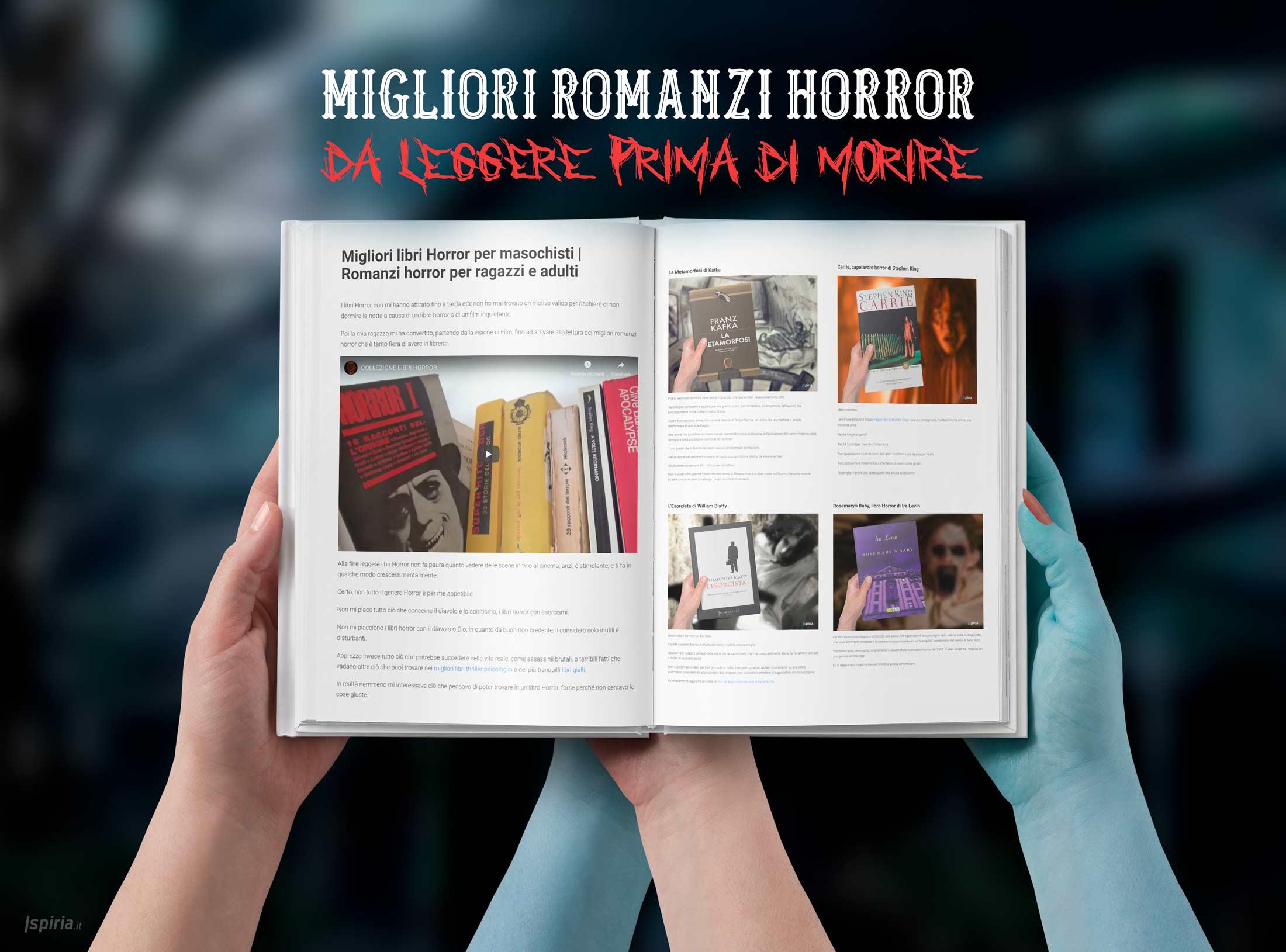 Migliori Libri Horror Per Masochisti | Romanzi Horror Per Ragazzi E Adulti