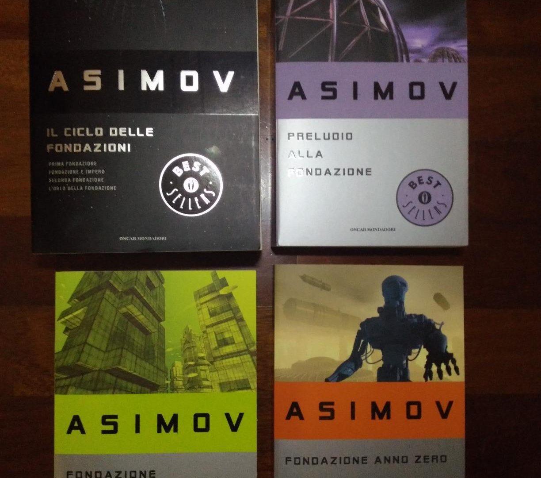 Ciclo Delle Fondazioni Libri Asimov
