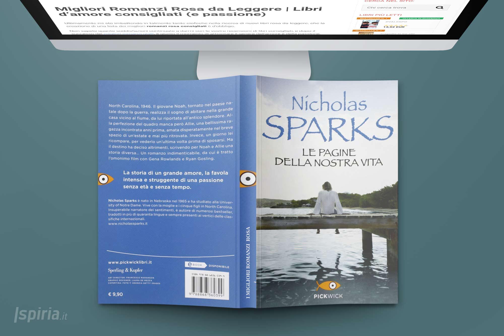 le-pagine-della-nosta-vita-romanzo-rosa-nicholas-sparks