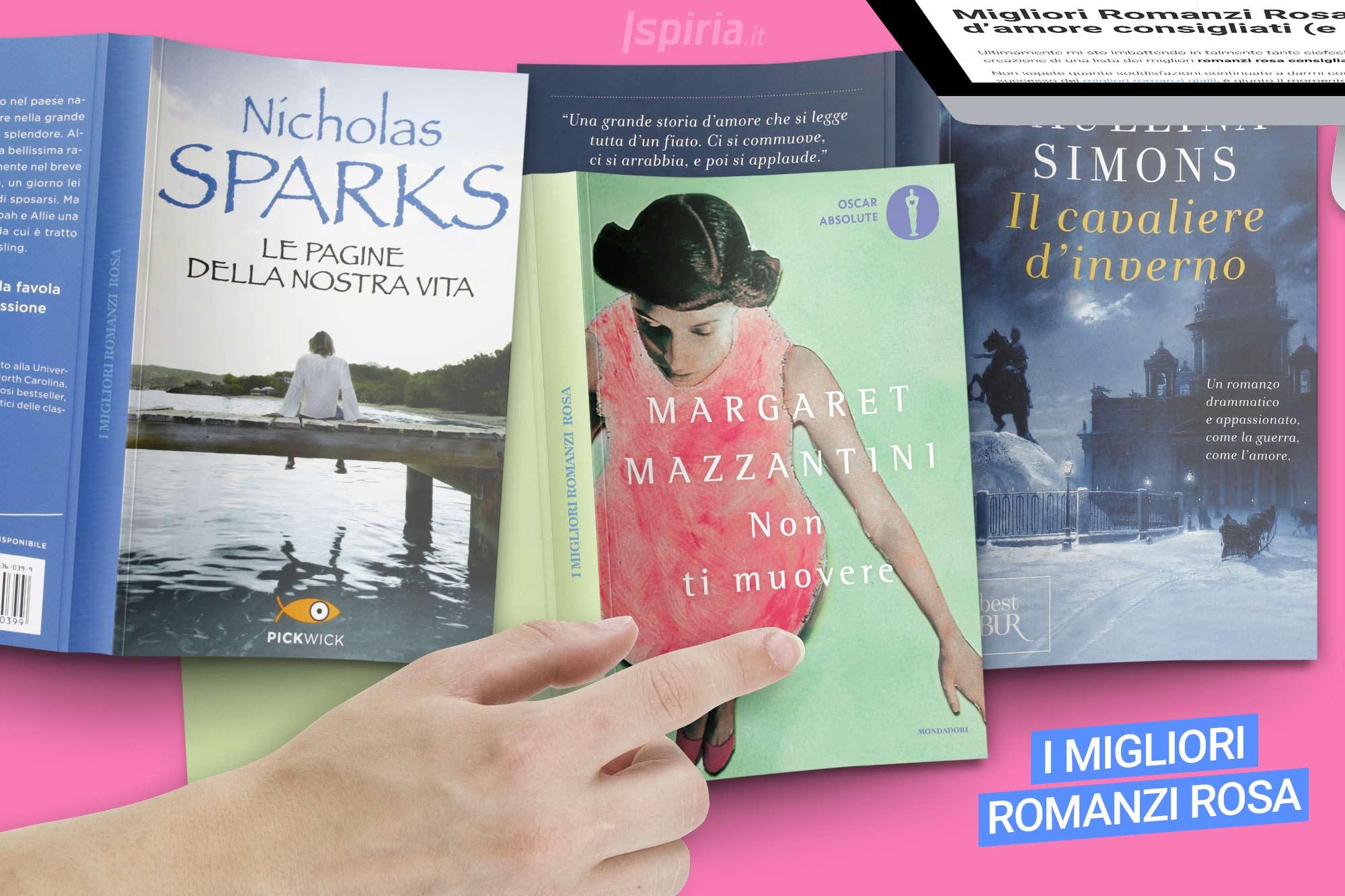 migliori romanzi rosa libri
