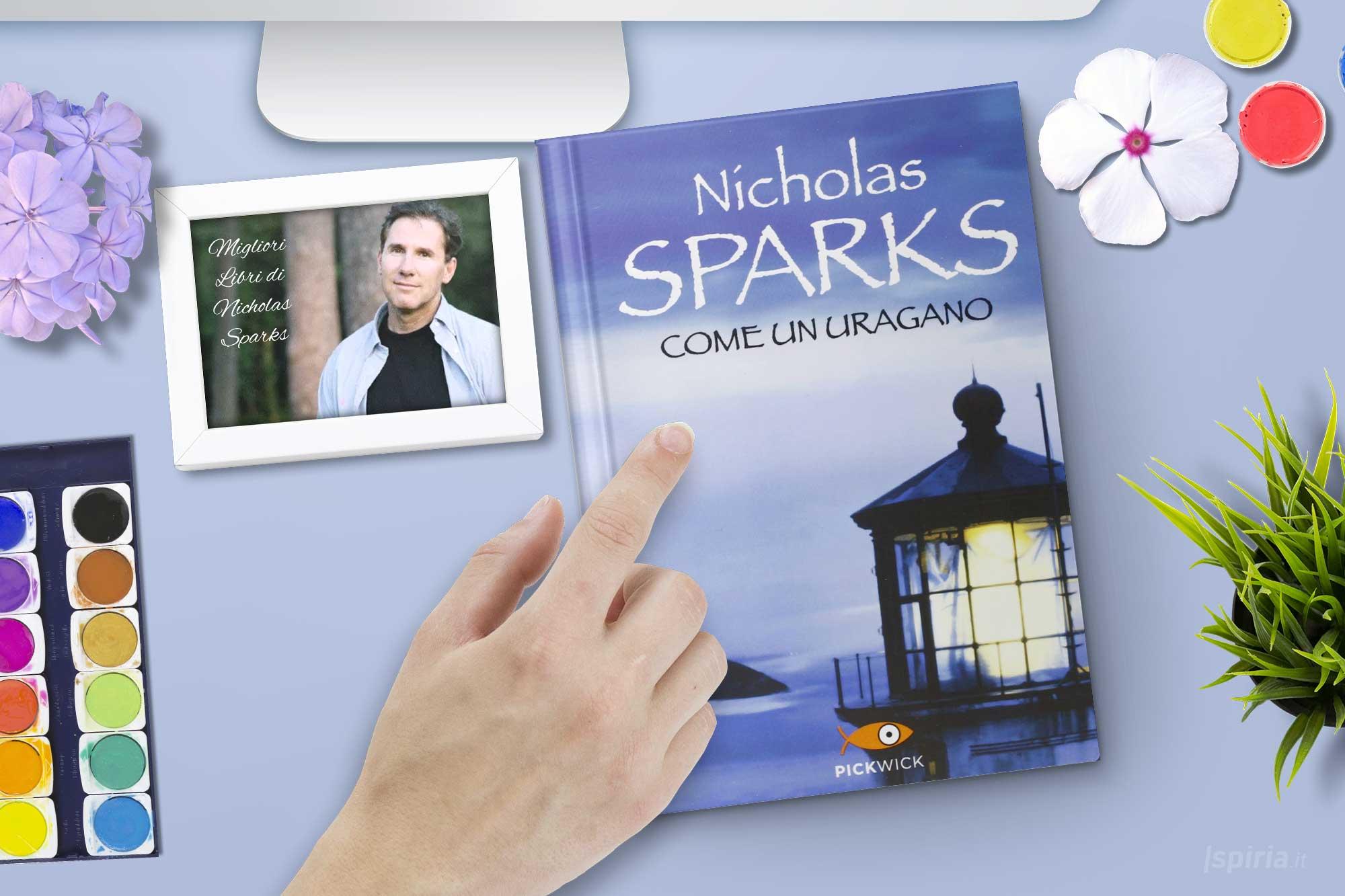 come-un-uragano-miglior-libro-nicholas-sparks