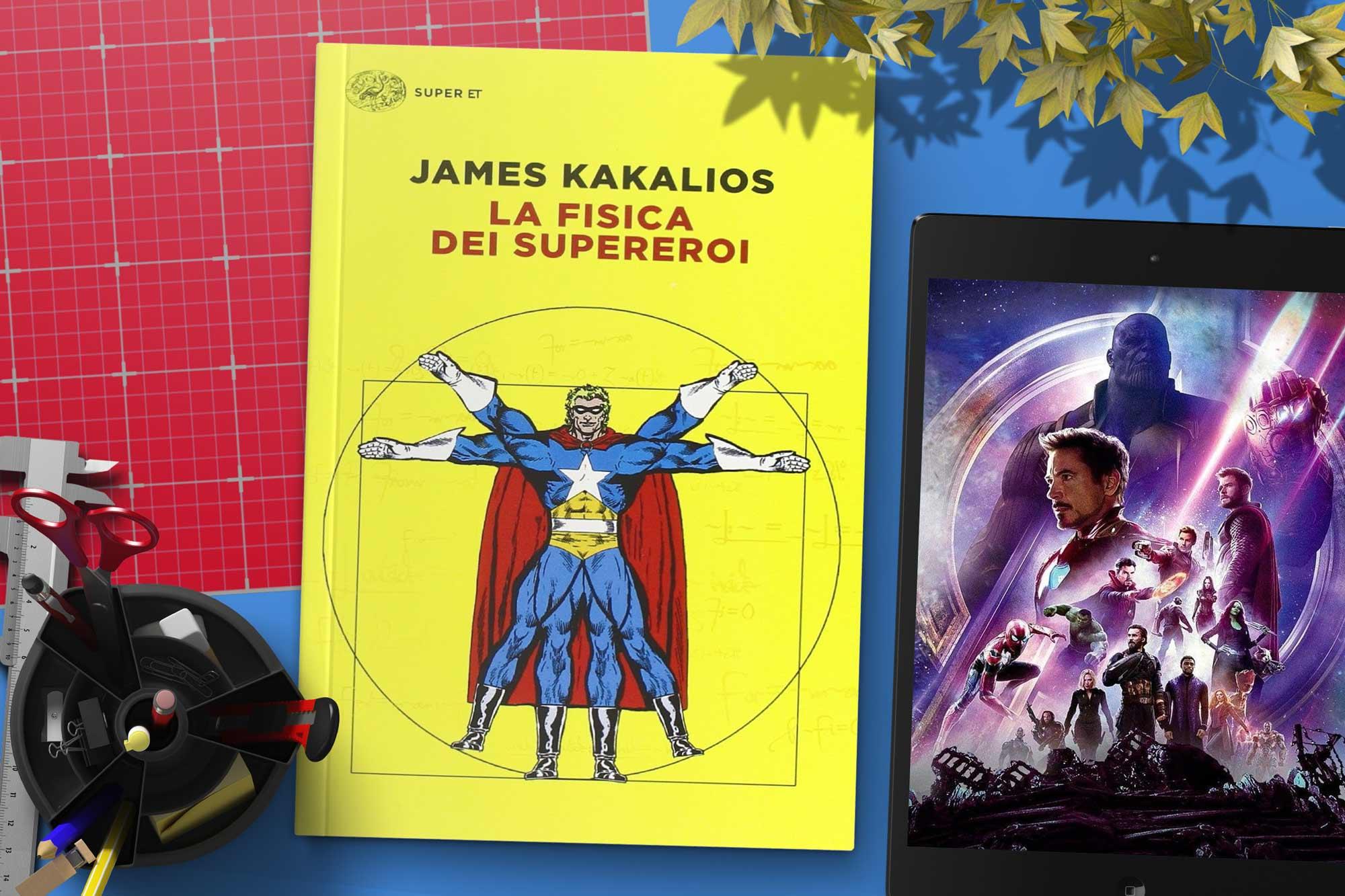 la-fisica-dei-supereroi-libro