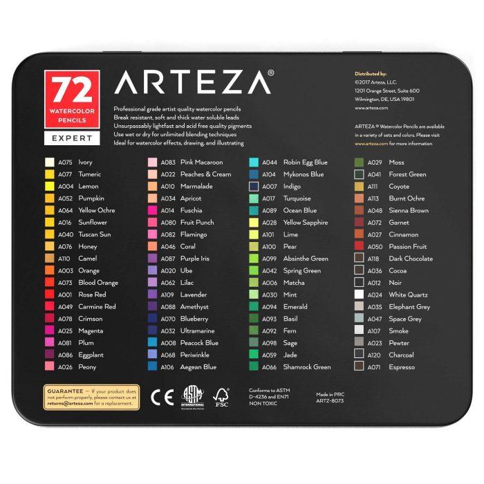 matite colorate acquerello arteza colori