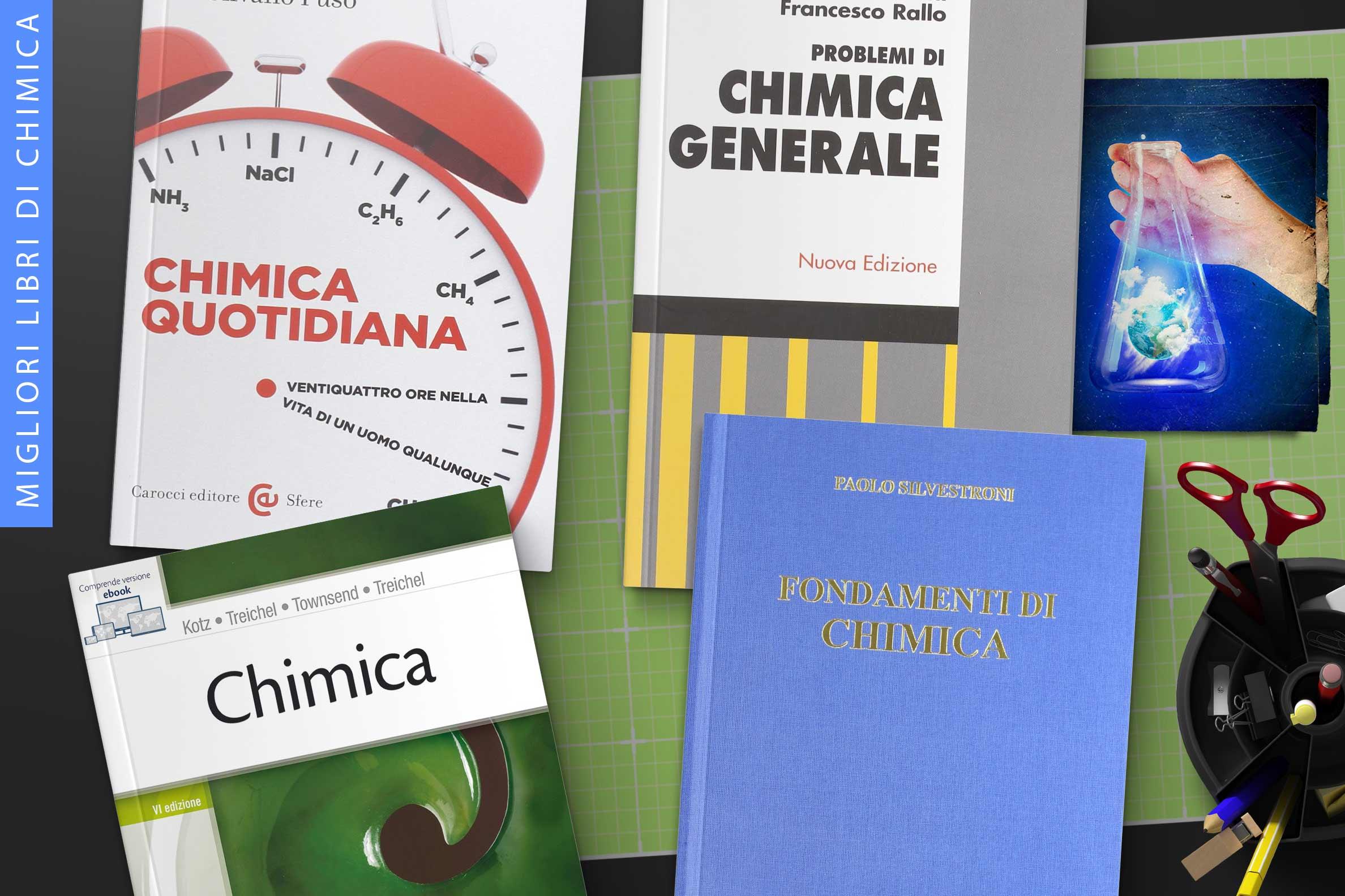Migliori libri di Chimica   Libro per studiare la chimica facilmente