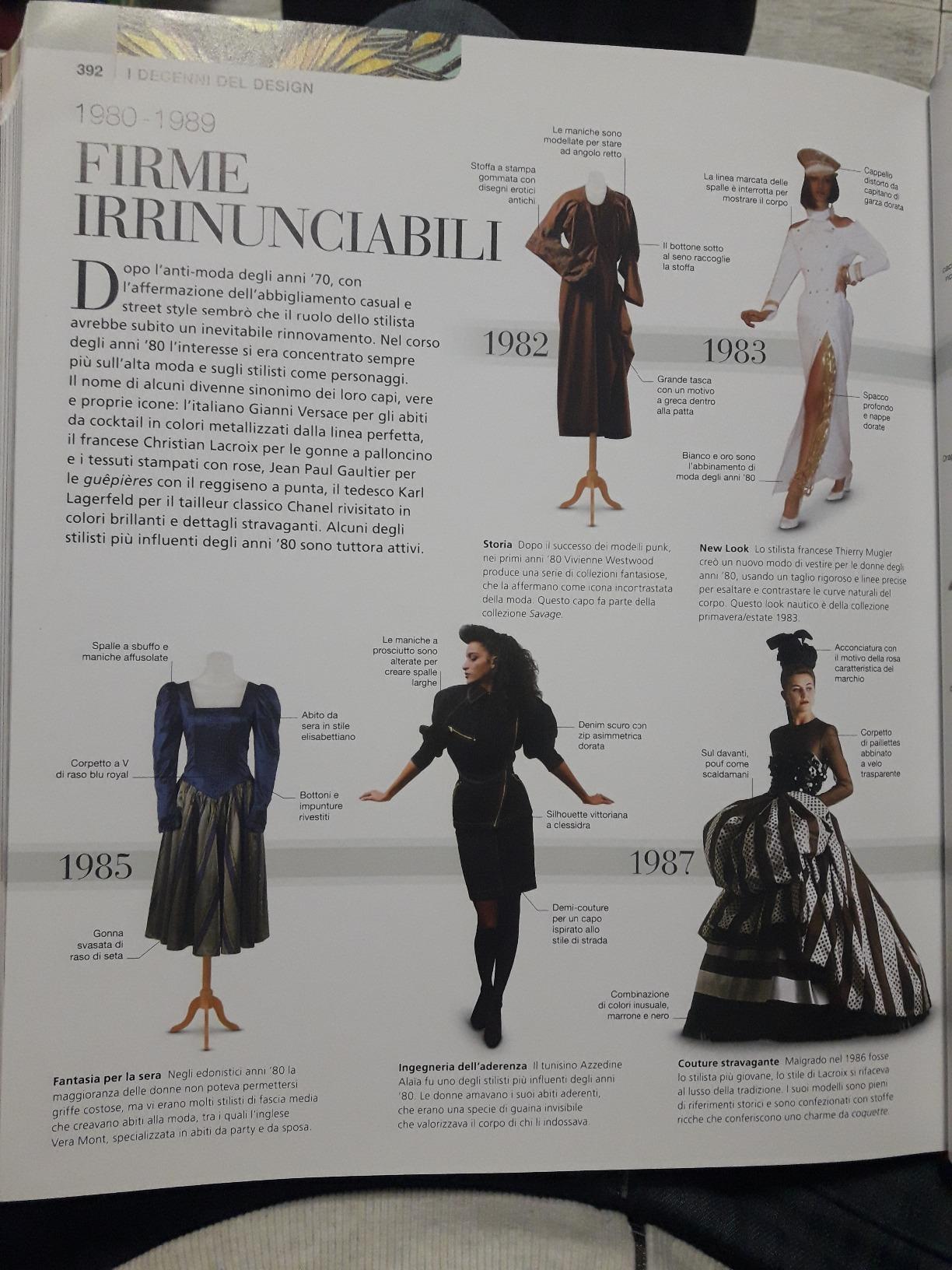 libro sulla moda