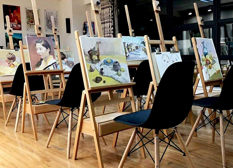 Cavalletti Per Dipingere Arte