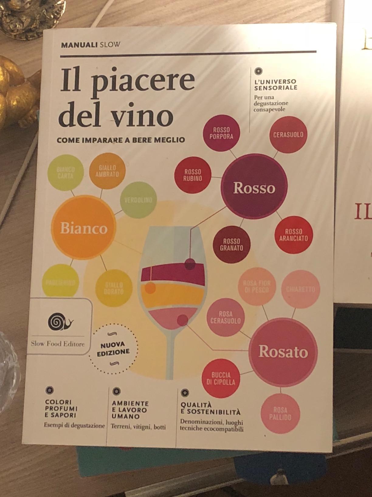 il piacere del vino libro