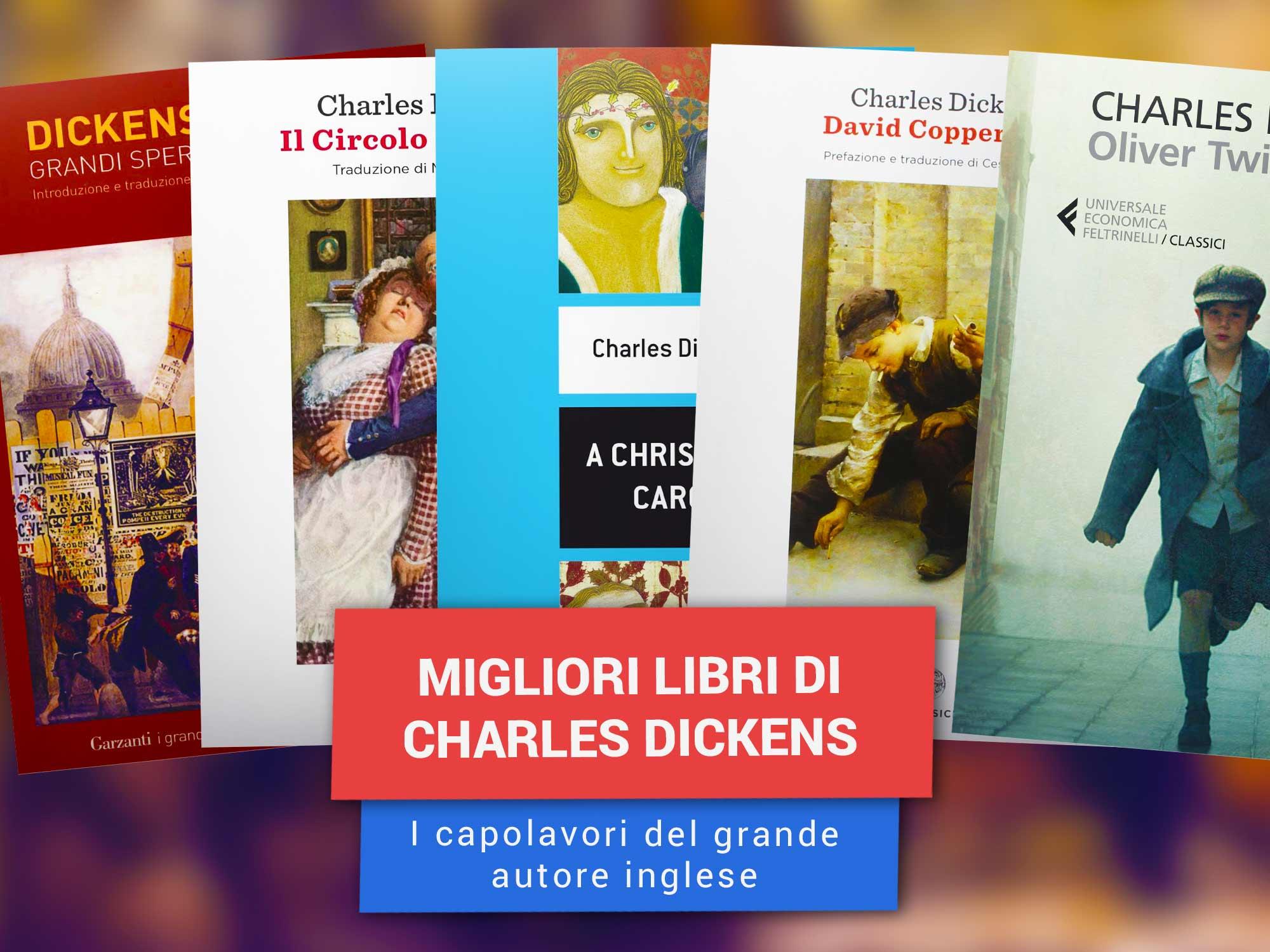 Charles Dickens Libri| Migliori Libri Di Charles Dickens