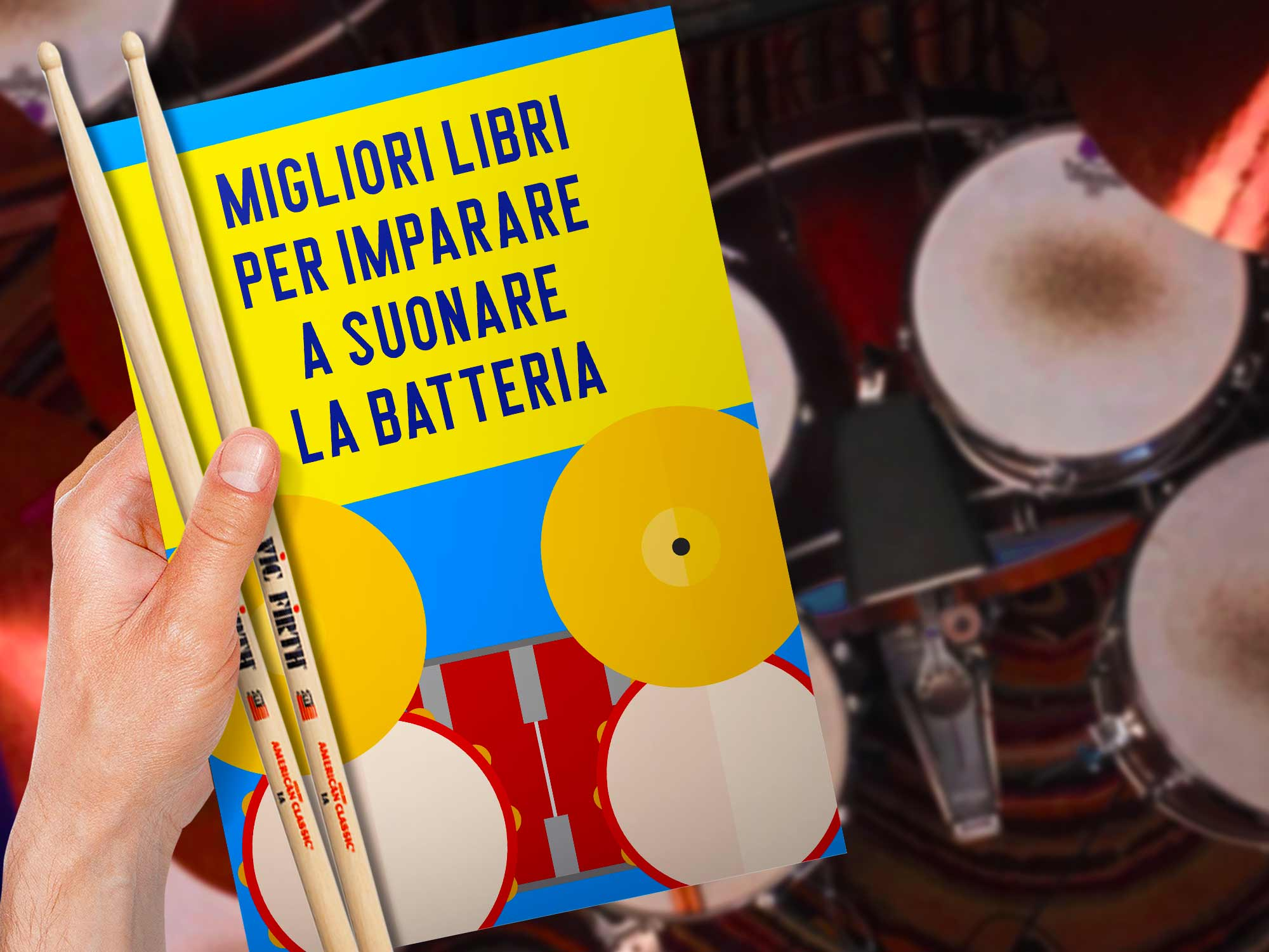 migliori-libri-per-imparare-a-suonare-la-batteria