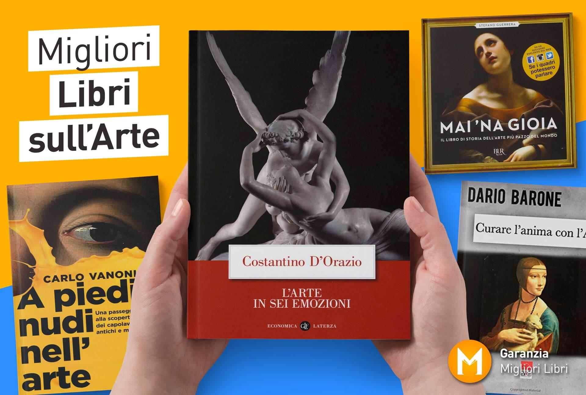 migliori libri sull'arte